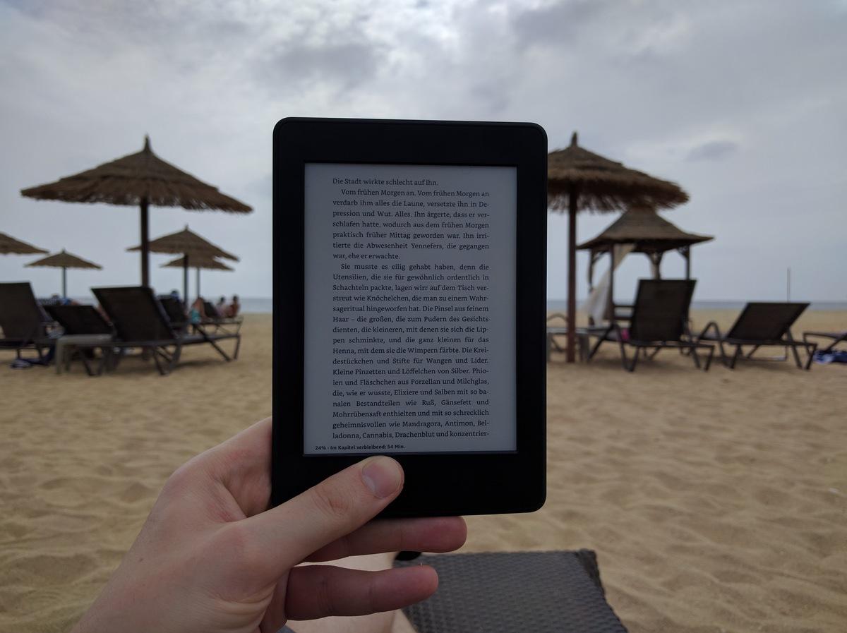 Kindle im Urlaub