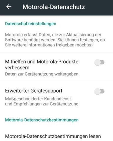 Datenschutz und Android geht eh schon nicht so gut zusammen. Grund genug, die Sammelei einzuschränken!