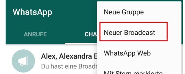 WhatsApp-Nachrichten