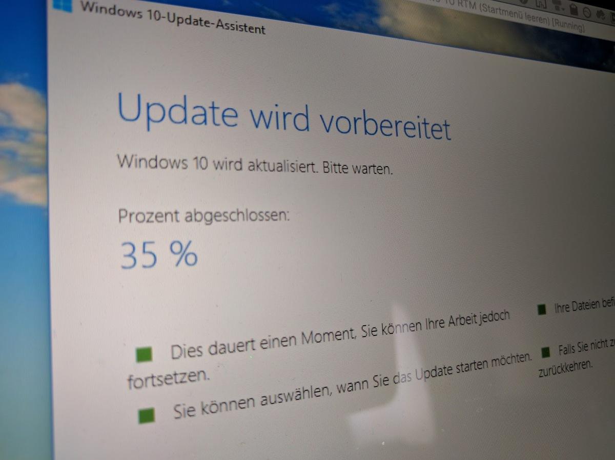 Windows 10 Anniversary Update manuell installieren - Der Tutonaut