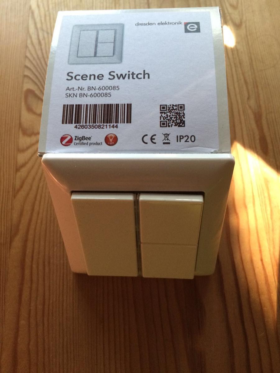 test dresden electronics scene switch smarter schalter f r philips hue der tutonaut. Black Bedroom Furniture Sets. Home Design Ideas