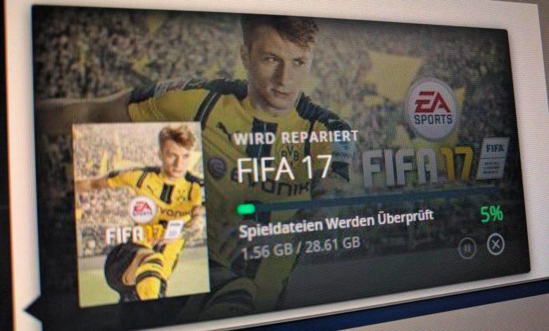 Bild von FIFA 17 mit englischen Kommentatoren spielen