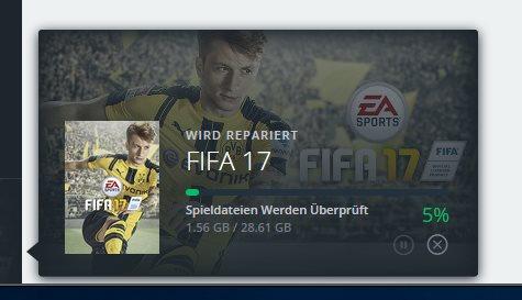 FIFA 17 Origin