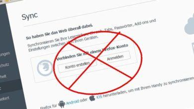 Bild von Anleitung: Firefox per DropBox & Co. verschlüsselt synchronisieren