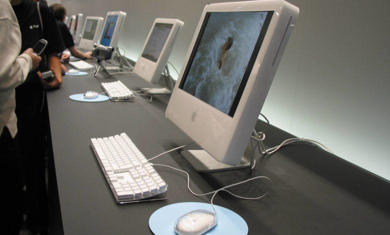 Bild von Historische Fotos: Macworld Expo 2004 in Paris