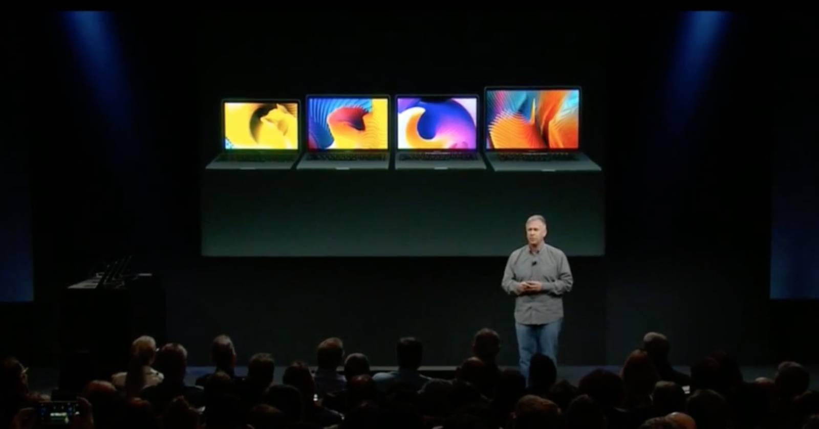 """Phil Schiller """"erklärt"""" das neue Macbook Pro."""
