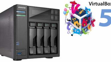 Bild von Anleitung: Virtuelle Maschine auf der NAS installieren und nutzen