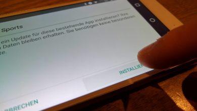 Apps aus unbekannten Quellen installieren