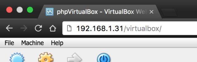 Virtuelle Maschine NAS
