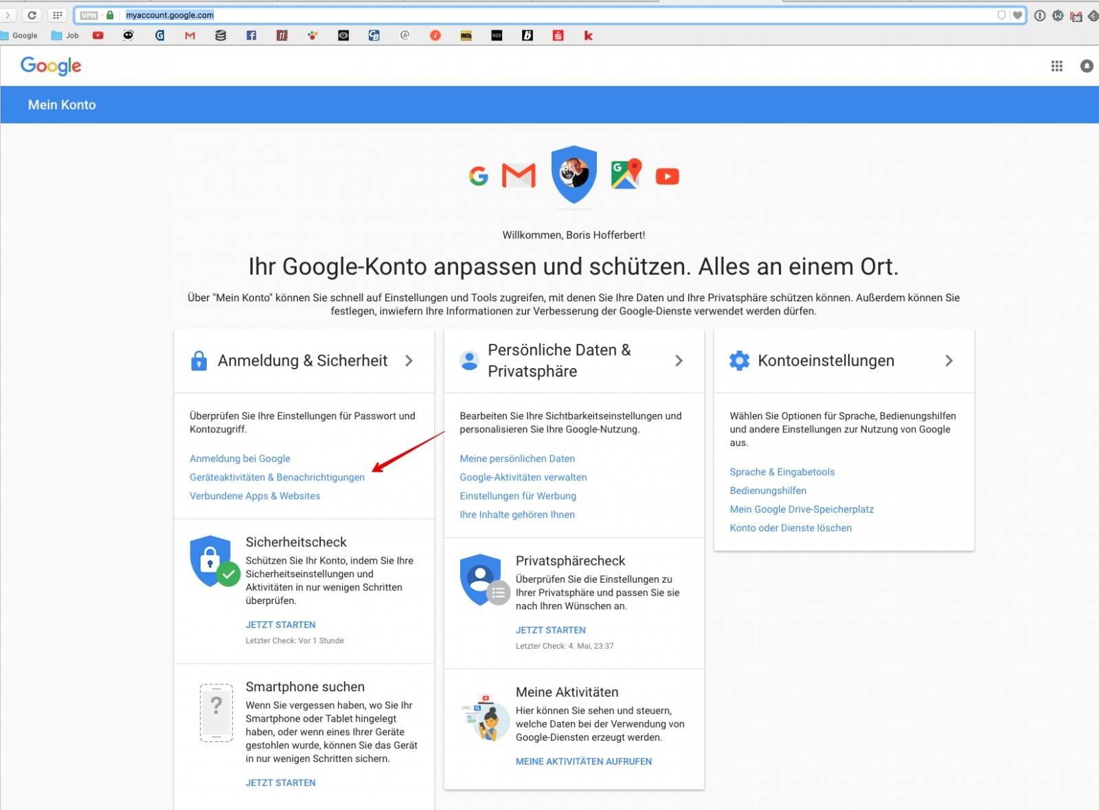 google konto auf tablet löschen