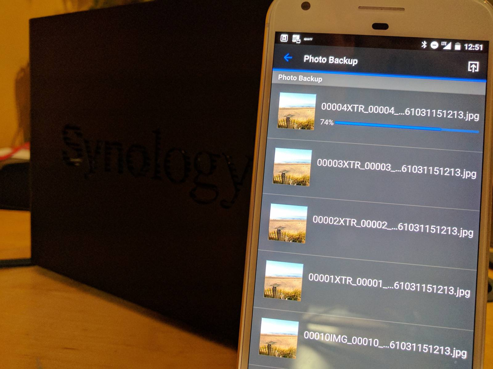 Synology Foto-Backup
