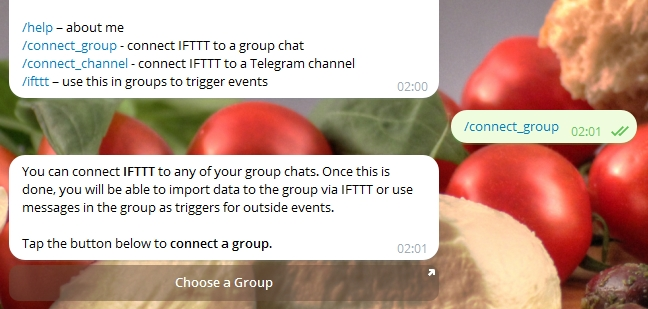 telegram-ifttt-wordpress