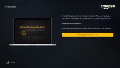 Bild von Amazon Video auf Nvidia Shield TV nutzen