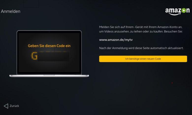Shield TV Amazon Video