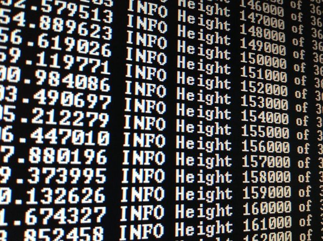 Blockchain Daten