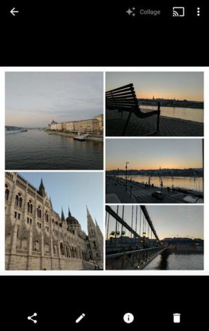 Google Fotos Collage