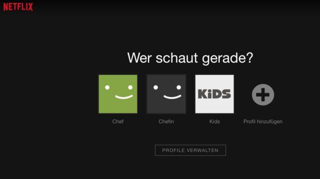 Netflix Zugang