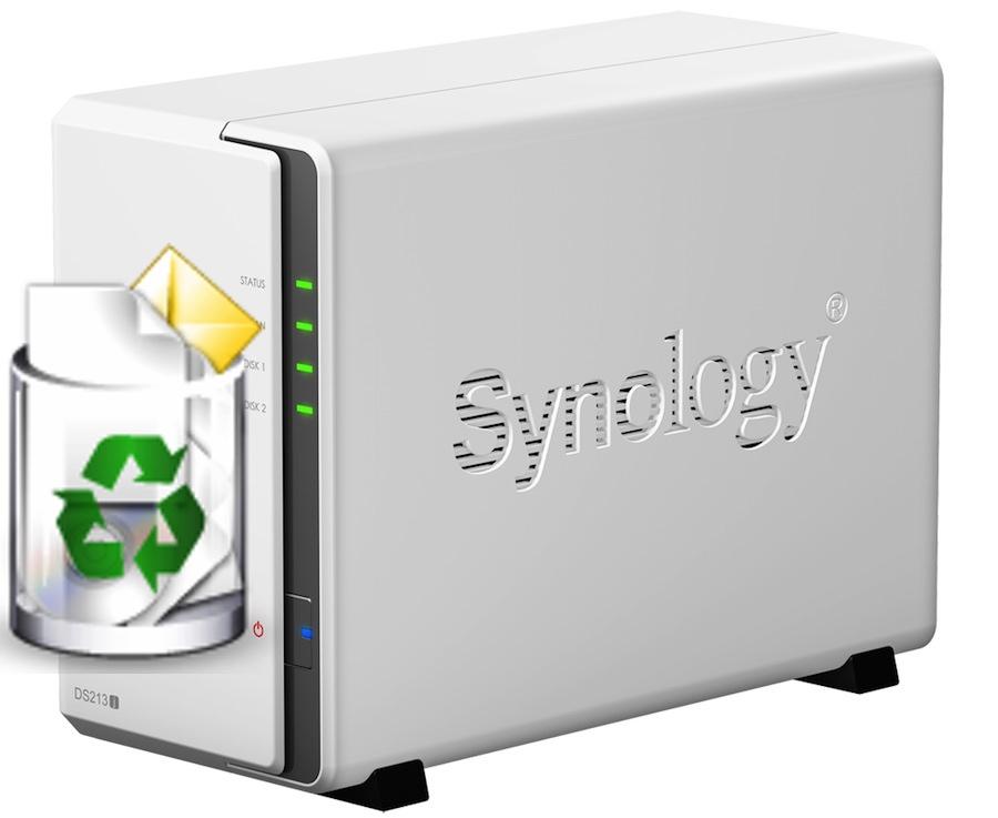 Synology Papierkorb