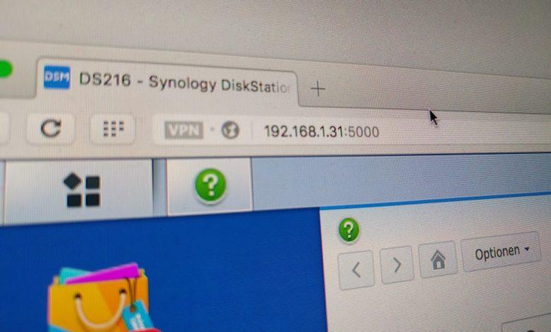 feste IP-Adresse Synology