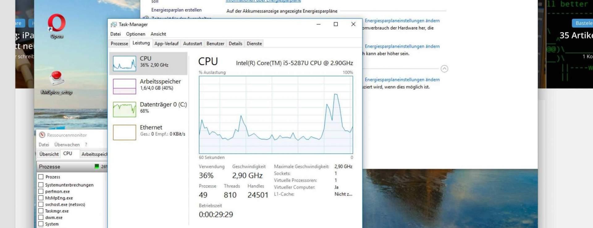 Windows 10 VM