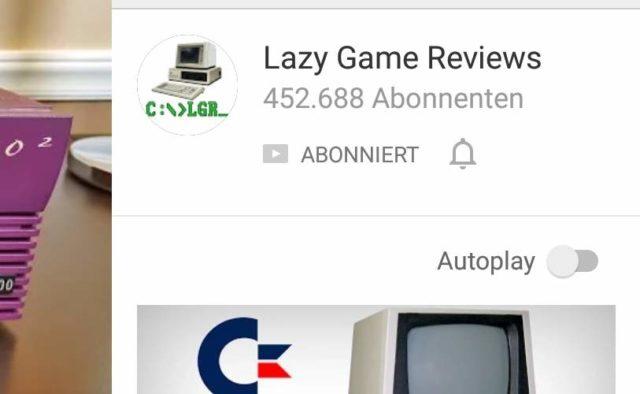 YouTube Video Autoplay App