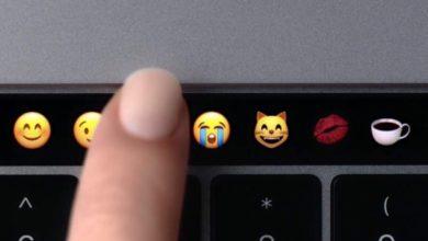Der Touchbar ist ein nettes Feature.