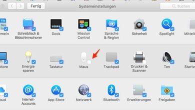 Bild von Ansicht der MacOS-Systemeinstellungen anpassen