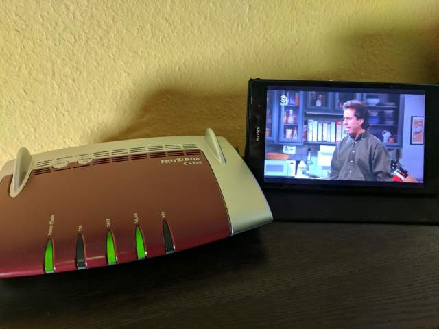 Live-TV Fritzbox