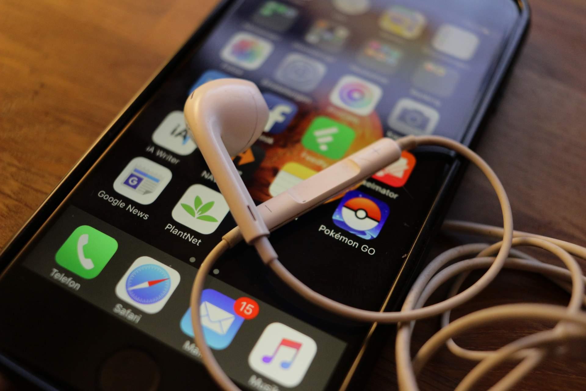 Die iPhone-Kopfhörer sind ein voll einsatzfähiger Fernauslöser.