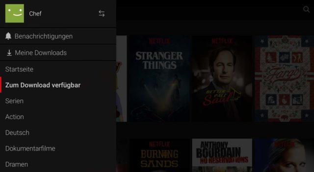Netflix Offline Videos