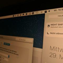 Night Shift Mac