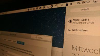 Bild von Anleitung: Night Shift auf dem Mac nutzen – Blaulicht-Filter