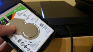 PS4 USB-Festplatte