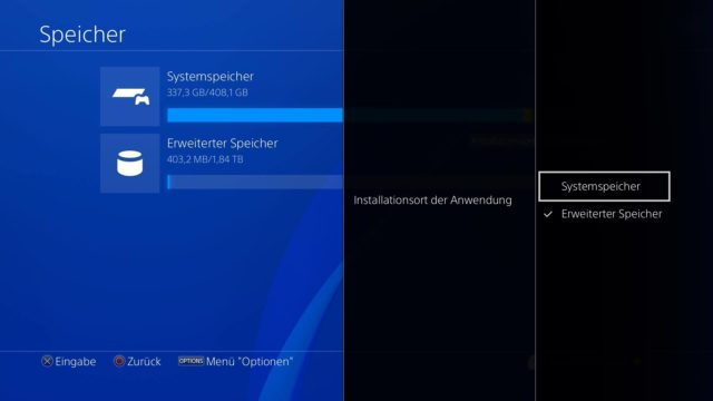 PS 4 Installation