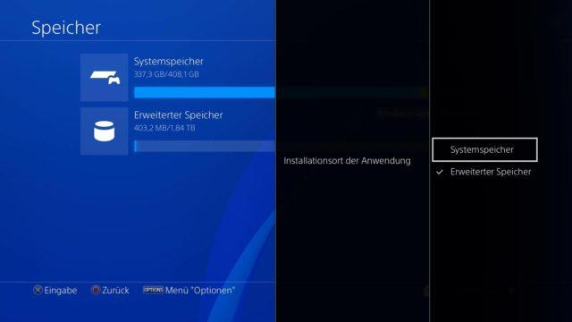 PS 4 Installation