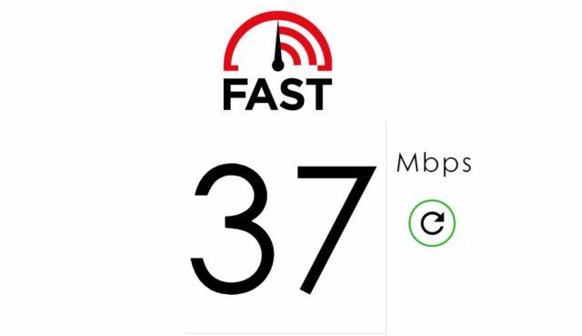 Fast.com Speedtest