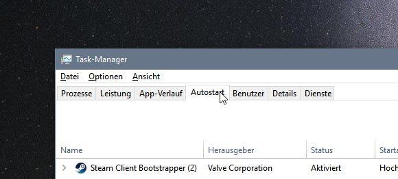 Windows 10 Autostart