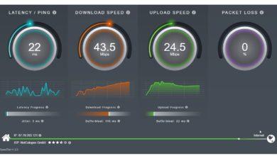 SourceForge Speedtest