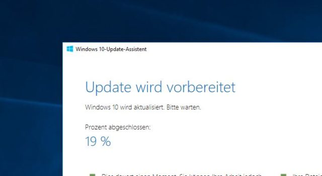 Creators Update Installation