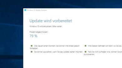 Bild von Windows 10 Creators Update manuell herunterladen und installieren