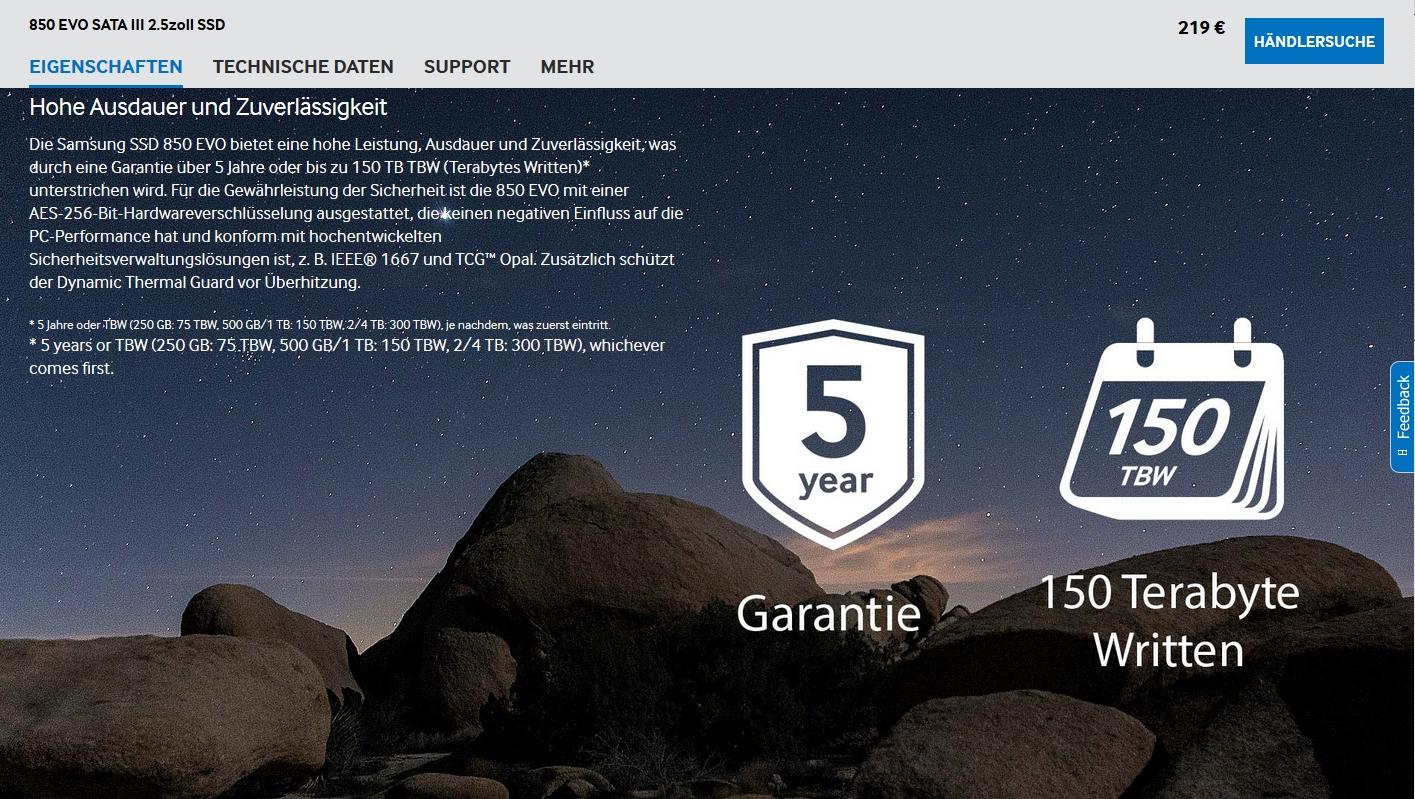samsung-garantie