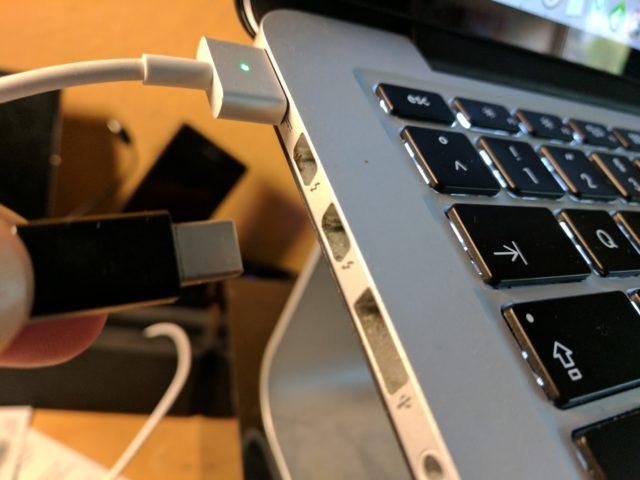 Macbook Displayport