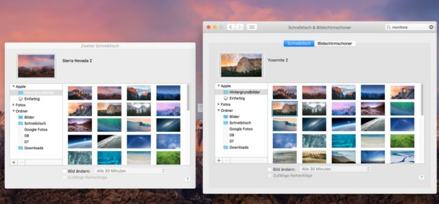 MacOs Hintergrundbilder