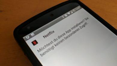 Bild von Netflix auf Android-Geräten mit Root-Zugang installieren