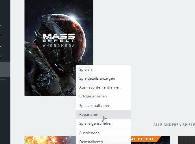 Mass Effect: Andromeda Sprache