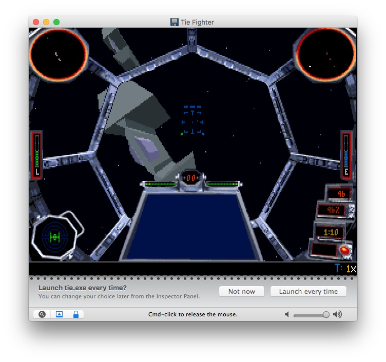 Tie-Fighter: Eines der besten DOS-Games aller Zeiten.