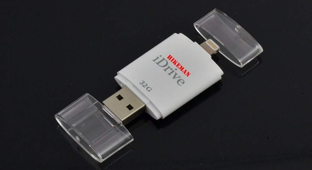 Praktisch: Ein Lightning-USB-Stick wie der iDrive von Hikeman