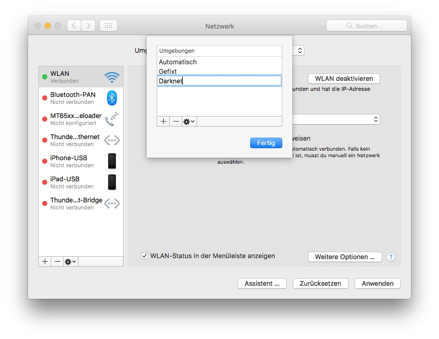 Per Systemeinstellungen leitet Ihr Apps schnell um.