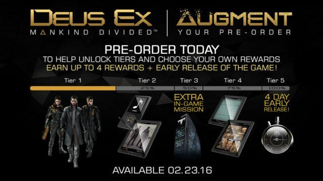 Deus Ex Augment your Preoder