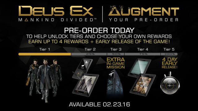 Deus Ex Augment your Preoder